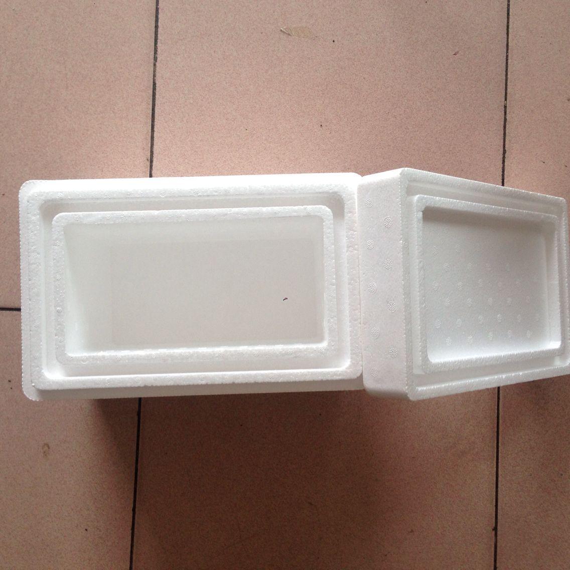 加厚4cm泡沫保温箱 冰淇淋泡沫箱 雪糕 蛋糕等冷藏运输泡沫箱