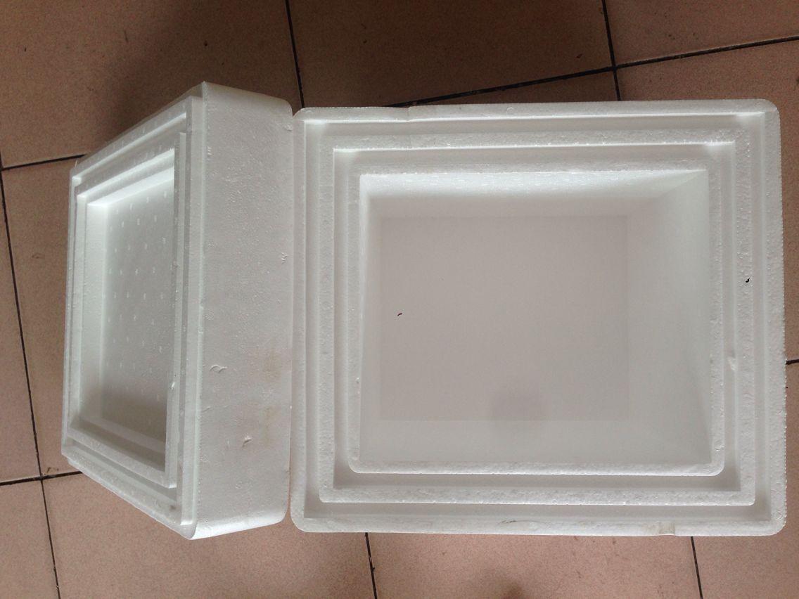 加厚泡沫保温箱5cm高密度泡沫箱 干冰运输首选泡沫箱