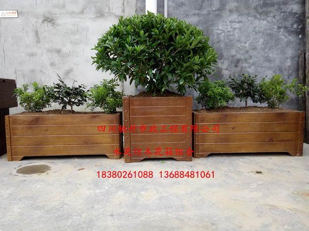 供应贵州仿木花桶,道路仿木花箱,习水县仿木花槽