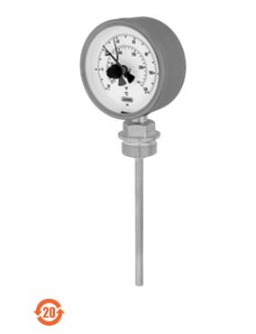 608005久茂双金属温度计JUMO-变压器型