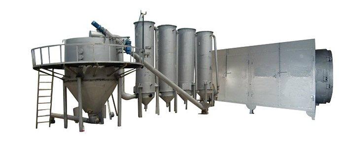 富威重工WTH-6稻壳炭设备