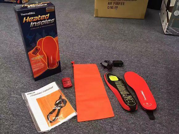 美国thermacell无线遥控充电加热鞋垫