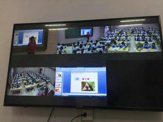录播系统方便了教师相互学习、评课研讨和资源共享
