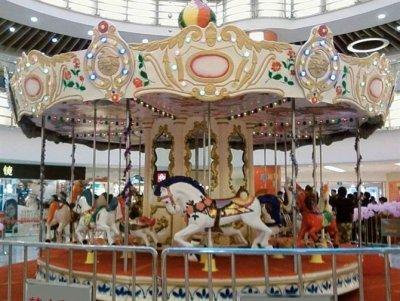 儿童游乐设备旋转木马 厂家供应 欢迎前来选购