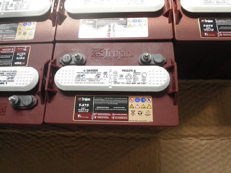 美国邱健蓄电蓄电池T-125尺寸  型号