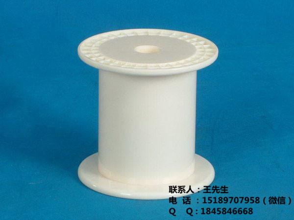 漆包线线盘 转轴带八角支架抽拉包装线盘 常州塑料线轴线盘PC185