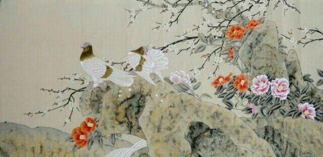 上海国画名家墨轩客厅画山水画国画批发订制,一手货源,货到付款