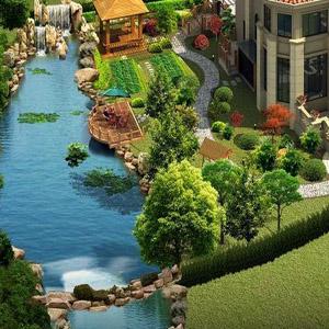 供西宁旅游度假村景观和青海景观绿化造价