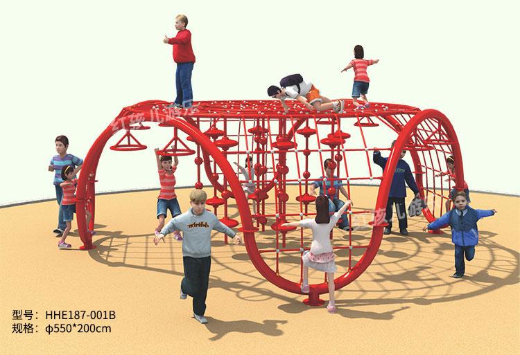 儿童乐园异形类攀爬网