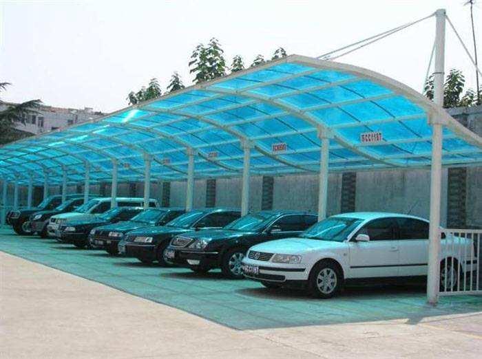 苏州自行车棚设计,钢结构汽车棚制作,500强公司合作供应商