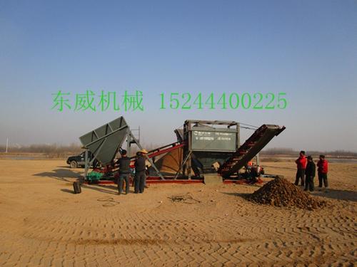 青岛厂家定制销售各种型号筛沙机设备质量优异价格实惠