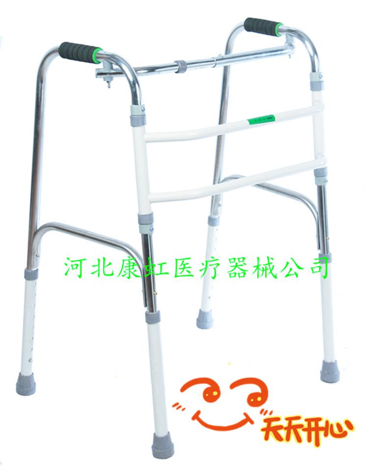 助步器 可折叠四脚拐杖 可调节高度 老人助行器走路