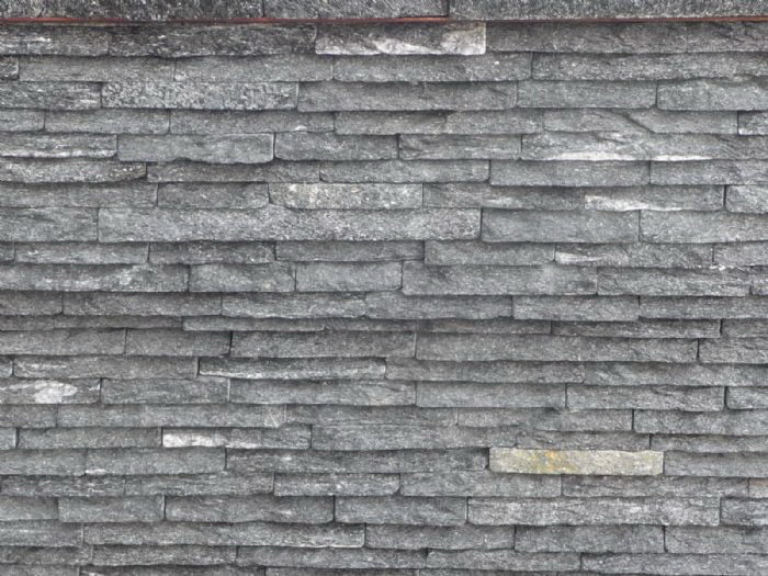外墙文化石青灰色蘑菇石图片