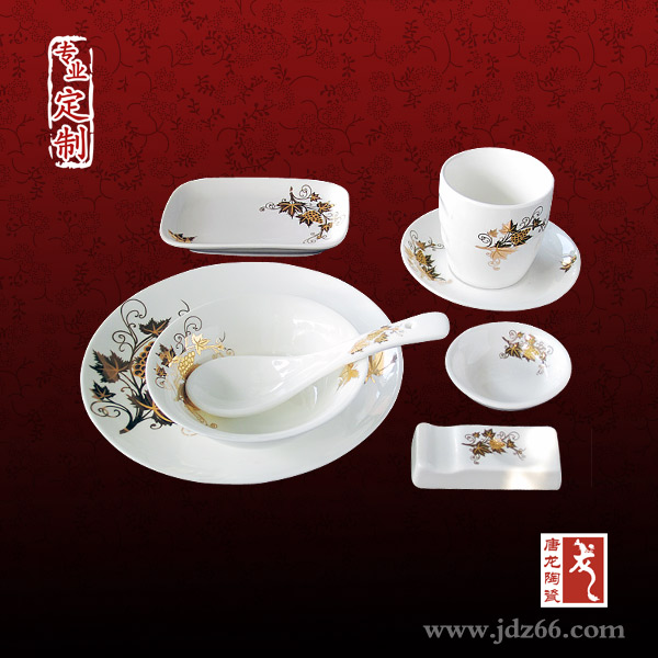 陶瓷餐具定做,陶瓷寿碗定做图片,高档酒店摆台餐具订制厂家