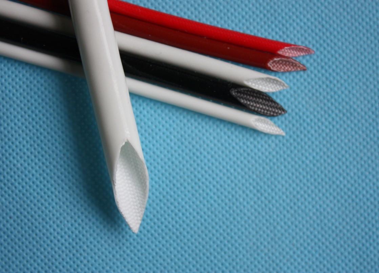 厂家直供硅橡胶玻璃纤维(内纤外胶)套管