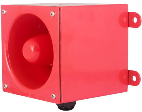 CS116WA-D 报警器 壁装式 116dB 工业用报警器 电子蜂鸣器,语音报警器