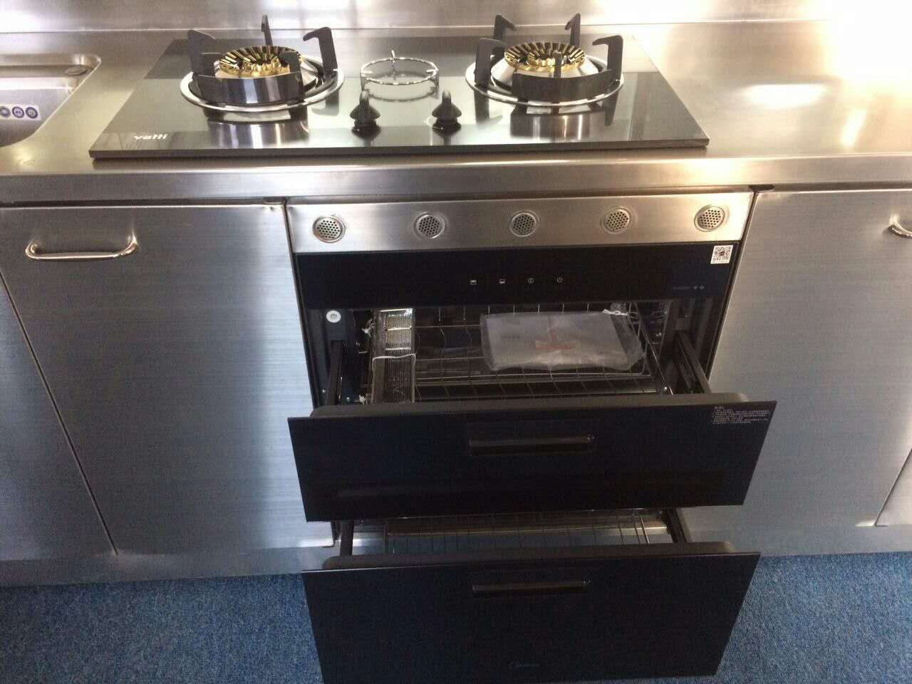 304整体厨房非标尺寸定制家庭橱柜批发