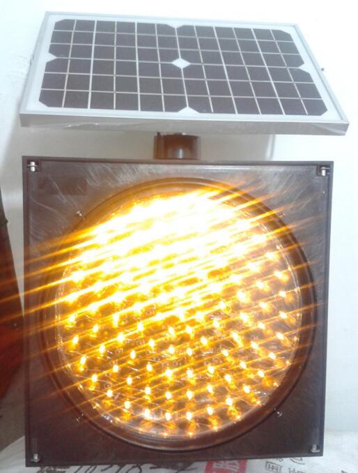 江苏弘光照明销售太阳能交通信号灯12V黄闪灯红绿灯