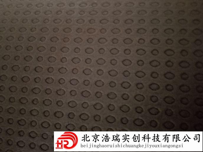 5mm单面凹发泡橡胶隔音减震垫 电子交联发泡聚乙烯隔音减震垫