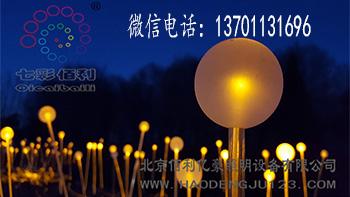 北京别墅光纤蒲公英灯定制