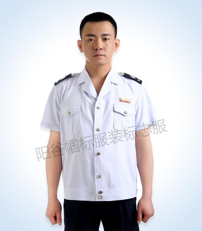 阳谷帼标服装税务标志服定制批量生产