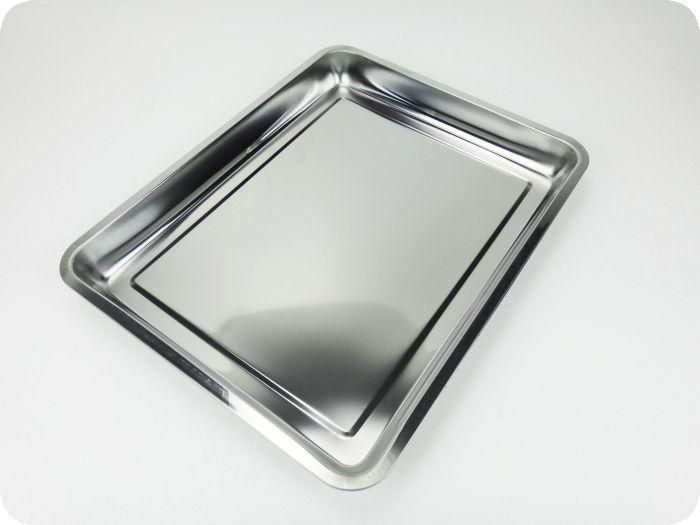 不锈钢托盘定制_不锈钢烤鱼盘_三六不锈钢方盘平底
