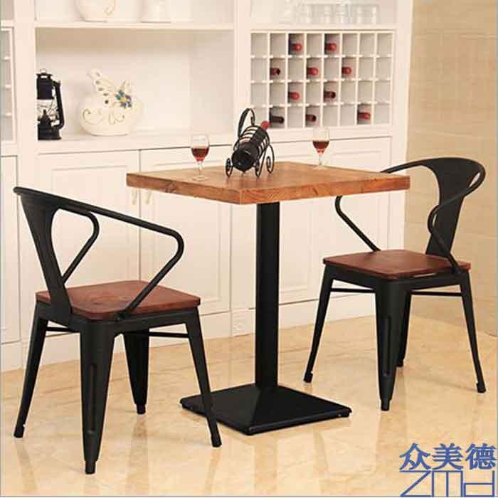 众美德厂家定制快餐桌椅现代简约个性快餐桌椅
