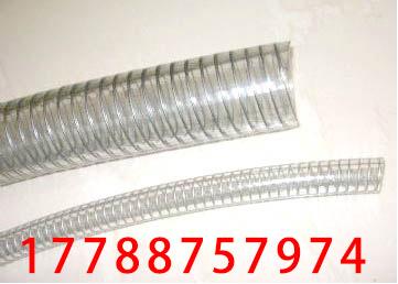 食品级PU透明钢丝软管 不含塑化剂pu软管