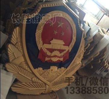 辽宁警徽厂家 辽宁5米警徽销售