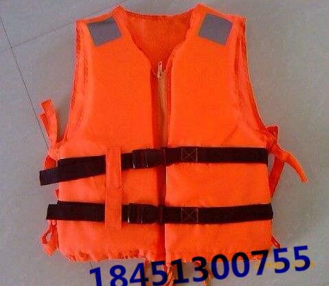 成人救生衣 高质量船用加厚防洪工作救生背心游泳衣