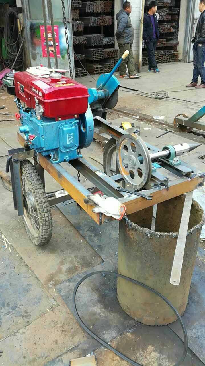 家用型劈柴机 劈木机 劈柴钻头直销