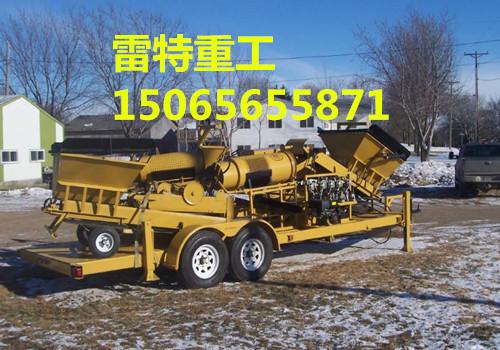 安徽小型淘金车厂家 雷特重工质量保证