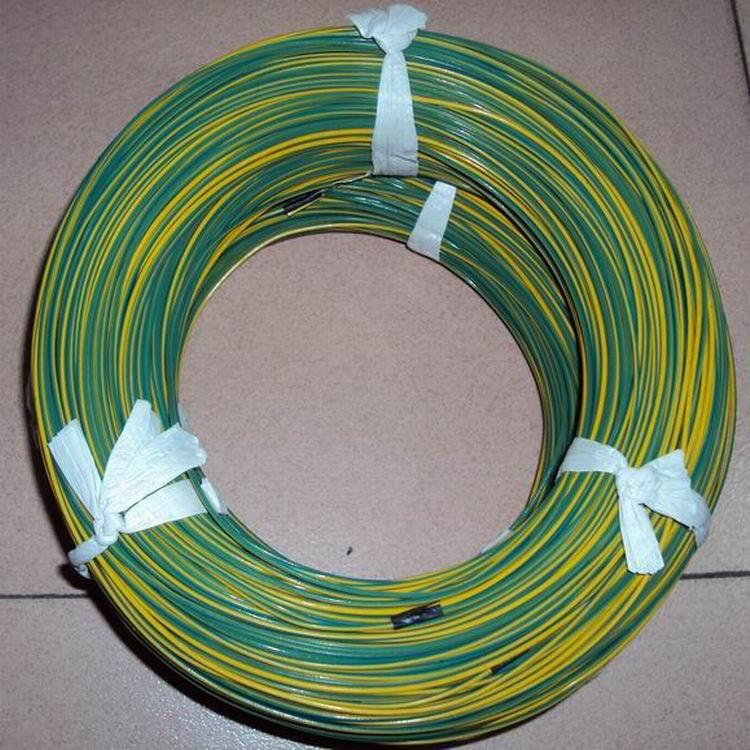 星品推荐黄绿色,透明UL1332铁氟龙电线