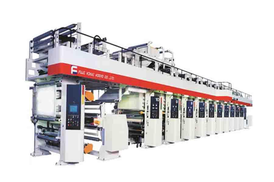 日本富士凹版印刷机