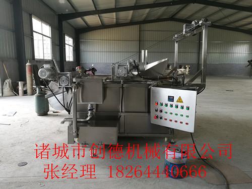 薯片油炸机、大型油炸线创德机械低价供应