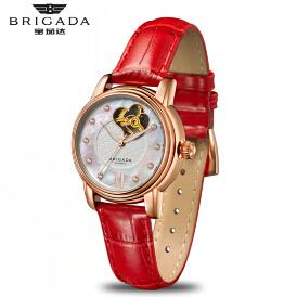 宝茄达时尚镂空镶钻女士机械腕表手表厂家直工厂定制销可一件代发