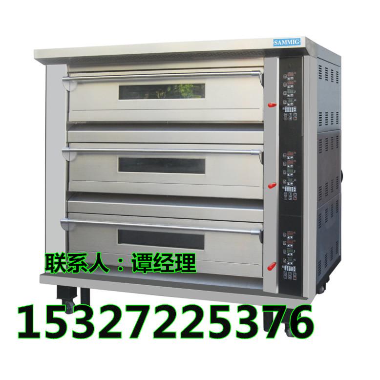 新麦燃气烤箱三层六盘烤箱