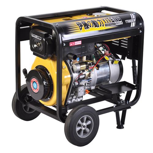 户外便携式柴油发电焊机