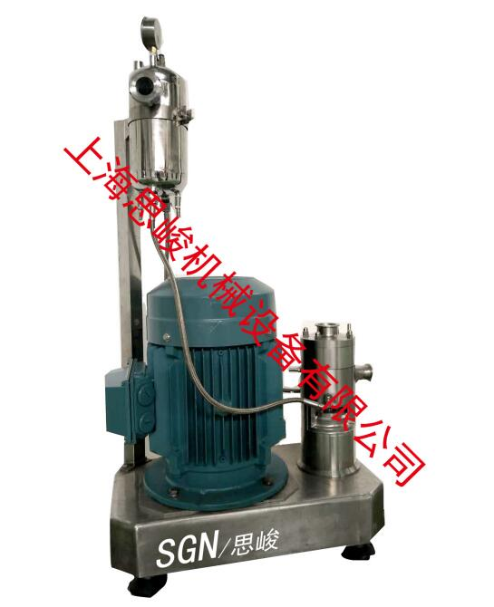 锂基润滑脂均质乳化机
