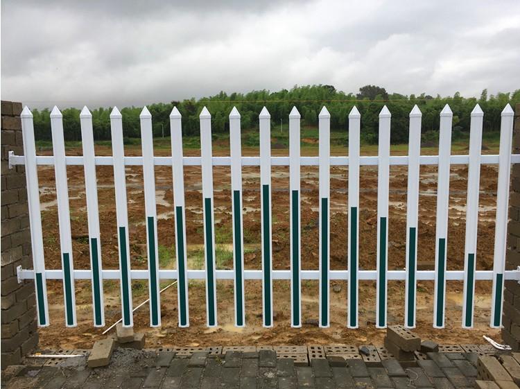 PVC小区护栏草坪围栏厂房庭院围墙电力变压器篱笆别墅栅栏栏杆