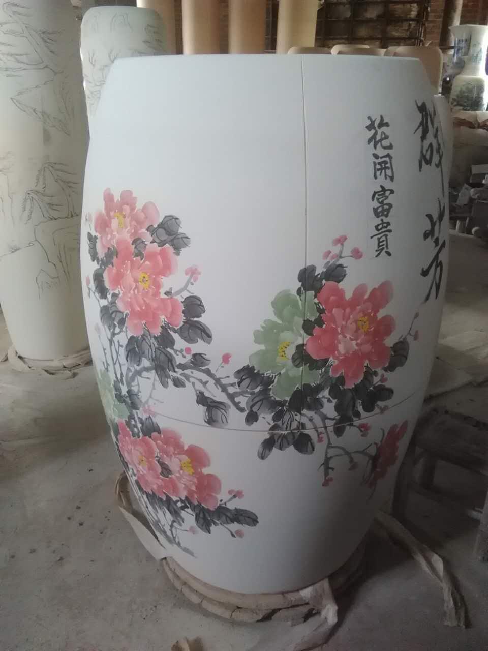 汗蒸瓮厂家定制  电气石能量陶瓷也没人养生缸