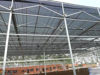河北超农玻璃餐饮温室施工,花卉温室大棚