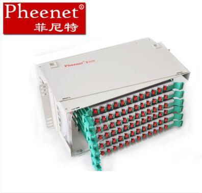 菲尼特mpo-lc光纤配线架网络配线架打法图解amp配线架接线端对应号