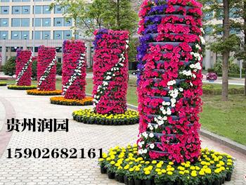 织金仿真鲜花花球和仿真鲜花花门批发厂家在开阳免费设计生态鲜花花柱造型