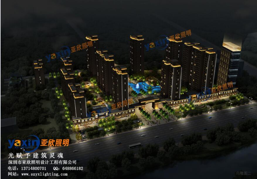 深圳城市亮化设计效果图
