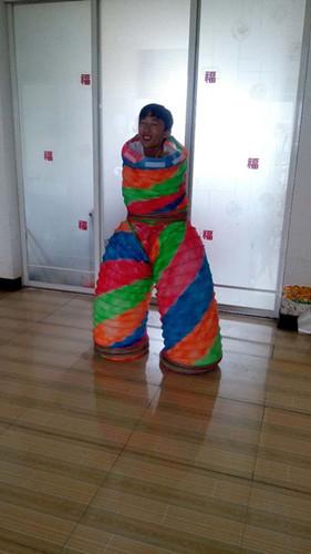 采购水管舞道具伸缩管 彩虹舞道具就到兴恒公司