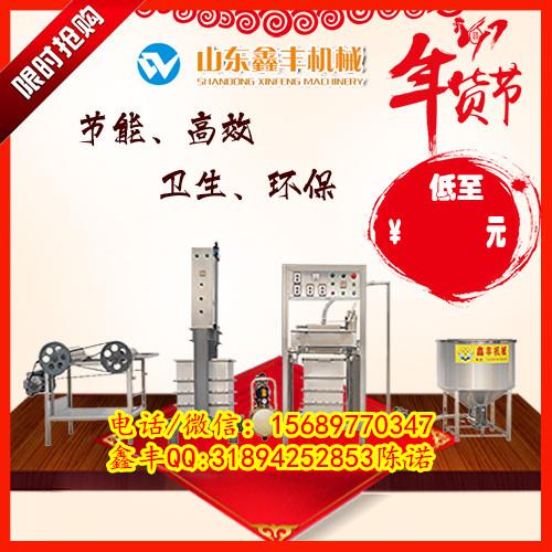 德州仿手工豆腐皮机多少钱 小型千张百叶机厂家