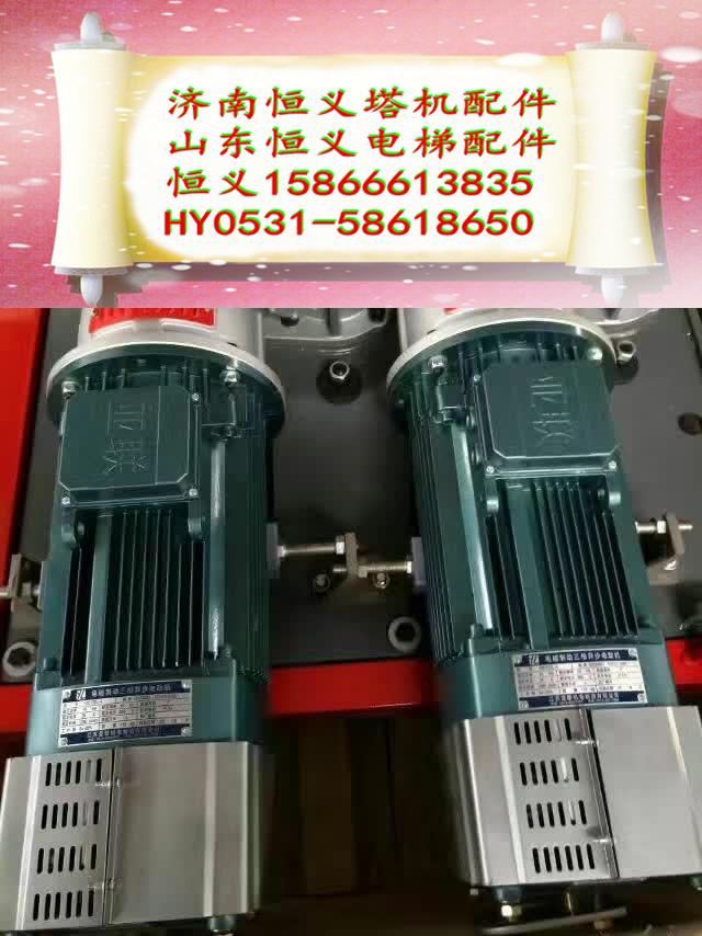 恒义施工升降机配件 施工电梯电磁制动电机 巨力11kw