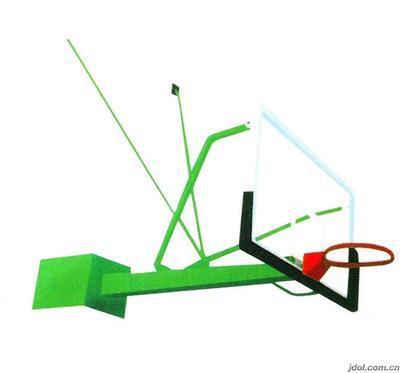 中山壁挂式篮球架多少钱 君诚专业批发销售体育设施