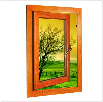 木包铝窗价格铝木复合门窗铝包木窗